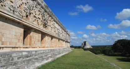Мексика, древние города майя: Ушмаль