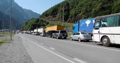 Граница России и Грузии, КПП «Верхний Ларс» — «Дариали»
