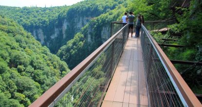 Окаце: самый живописный каньон Грузии