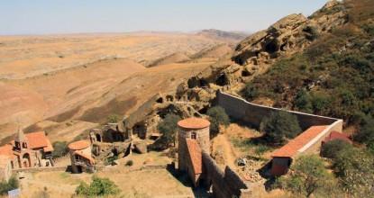 Грузия: монастырь Давид Гареджи