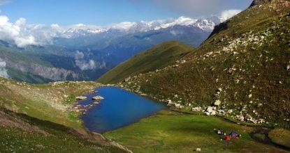 Грузия, Рача: путешествие в «грузинскую Швейцарию»