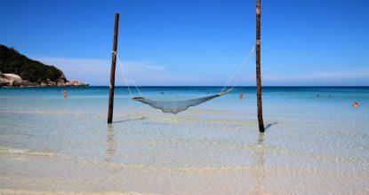 Пляж Хаад Рин на Пангане — место легендарной Full Moon Party
