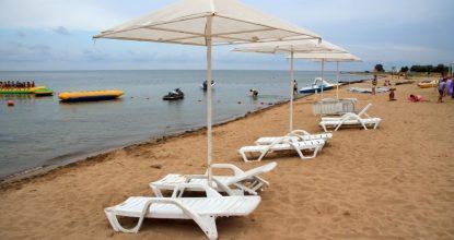 Крым, пляж в Заозерном (Евпатория): описание, как добраться, плюсы и минусы, фото и видео