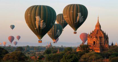 Мьянма: Баган, город двух тысяч храмов