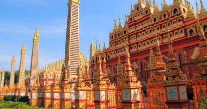 Мьянма, Монива (Моньва): «Будда-небоскреб» и многое другое