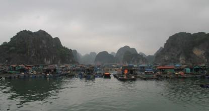 Северный Вьетнам: остров Кат Ба (Катба) и бухта Халонг — «грязное чудо света»