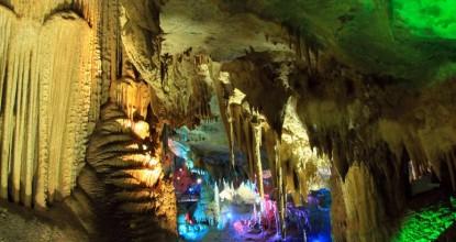Грузия: пещера Прометея