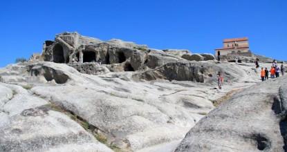 Грузия: пещерный город Уплисцихе