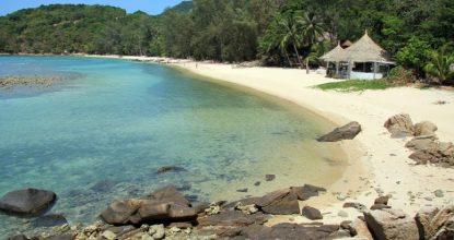 Панган, Хаад Кхом (Коконат-бич) — пляж «для своих»