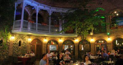 Ресторан «Цисквили» — одно из самых вкусных мест Тбилиси