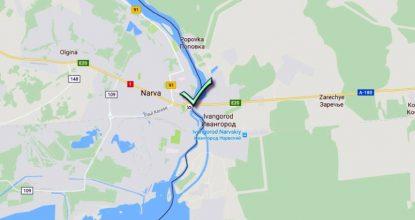 Российско-эстонская граница: пункты «Ивангород — Нарва», «Шумилкино -Лухамаа», «Куничина Гора — Койдула»