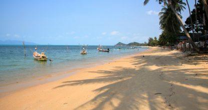 Самуи, Банг По — хороший пляж для спокойного отдыха
