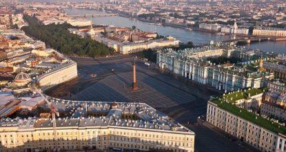Санкт-Петербург: путеводитель по «Золотому треугольнику»