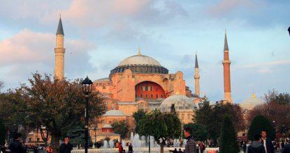 Собор Святой Софии в Стамбуле — главный архитектурный памятник Византии