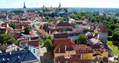 Старый Таллин: церковь Святого Олафа — Олевисте