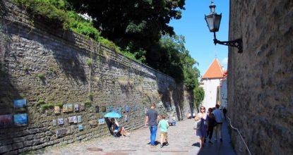 Старый Таллин: улицы Pikk Jalg, Lühike jalg и Сад датского короля