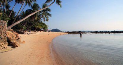 Пляж Талинг Нгам – «затерянный мир» Самуи