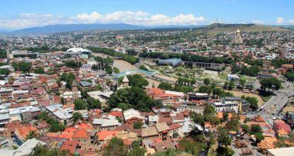 Тбилисский «Кремль»: крепость Нарикала и «Мать Грузия»