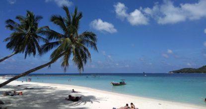 Панган, бухта Чалоклам: пляжи Малибу и Фанта