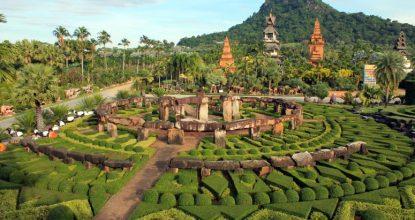 Тропический парк Нонг Нуч — яркая достопримечательность в окрестностях Паттайи