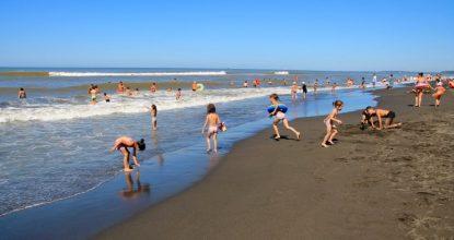 Уреки — песчаный пляж в Грузии: отзыв, описание, фото