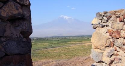 В Армению на машине: монастырь Хор Вирап