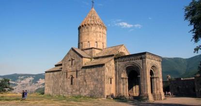 В Армению на машине: монастырь Татев