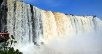 Чудо света: водопад Игуасу — описание, как добраться и много фото!